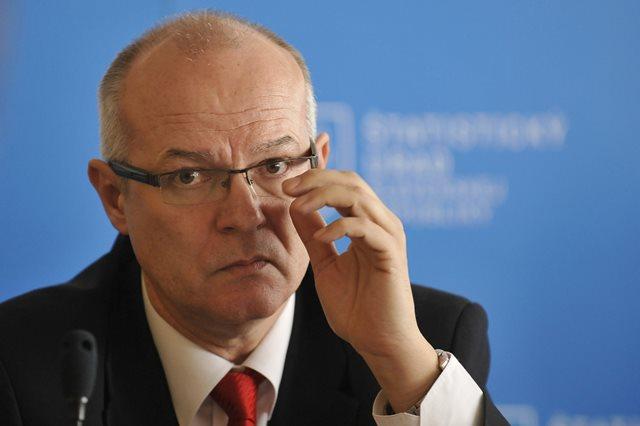 Na snímke generálny riaditeľ sekcie makroekonomických štatistík ŠÚ SR František Bernadič