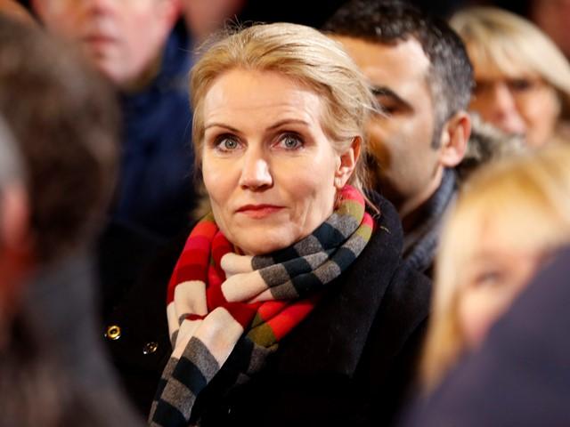 Na snímke dánska premiérka Helle Thorningová - Schmidtová