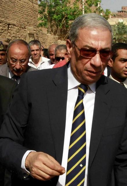 Na snímke z roku 2014 egyptský generálny prokurátor  Hišám Barakát