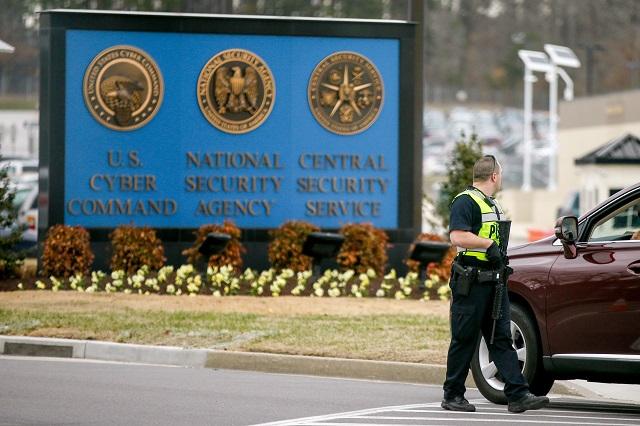 Vstup do americkej Národnej bezpečnostnej agentúry (NSA)