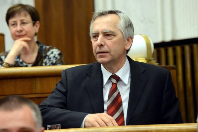 Na snímke podpredseda NR SR Ján Figeľ - KDH