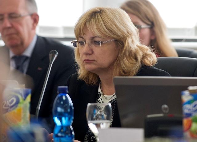 Na snímke predsedníčka Súdnej rady SR Jana Bajánková