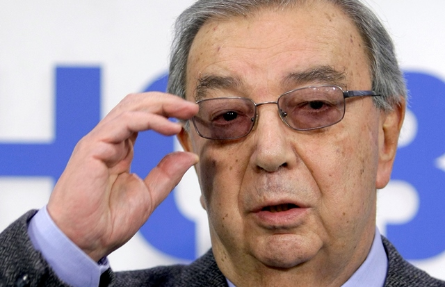 Na snímke z roku 2011 bývalý ruský minister zahraničných vecí Jevgenij Primakov