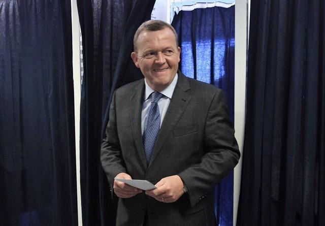 Na snímke dánsky premiér Lars Lökke Rasmussen