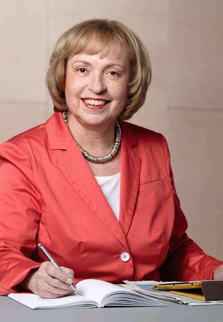 Na snímke námestníčka nemeckého ministra zahraničných vecí pre kultúrne záležitosti a poslankyňa Spolkového snemu Maria Böhmerová