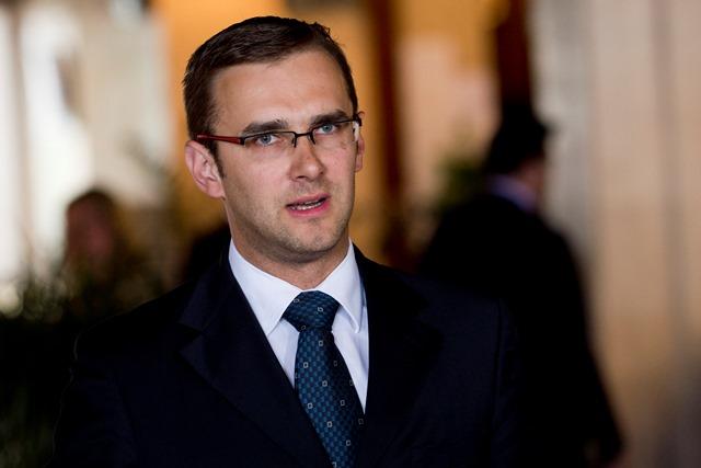 Na snímke poslanec Národnej rady SR a vedúci stálej pracovnej skupiny Siete pre vnútornú bezpečnosť Martin Fedor