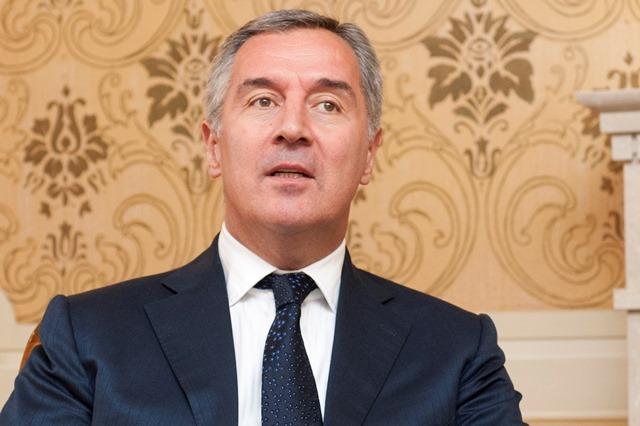 Na snímke predseda vlády Čiernej Hory Milo Djukanovič