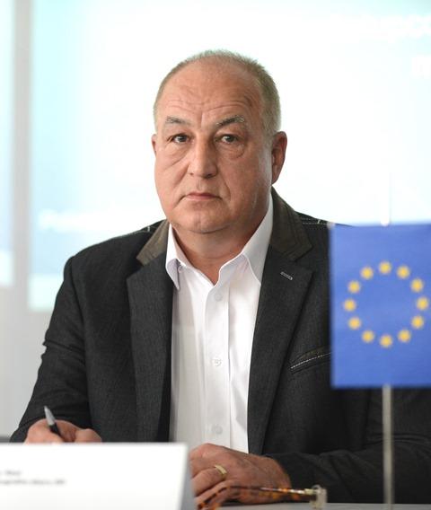 Na snímke viceprezident PZ  SR Ľubomír Ábel