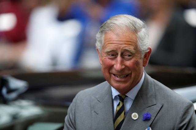 Na snímke britský princ Charles