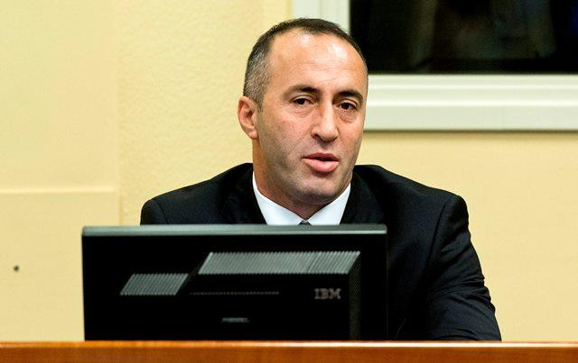 Na snímke bývalý kosovský premiér Ramush Haradinaj