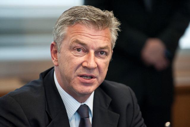 Na snímke minister vnútra Chorvátskej republiky Ranko Ostojič