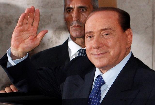 Na snímke bývalý taliansky premiér Silvio Berlusconi