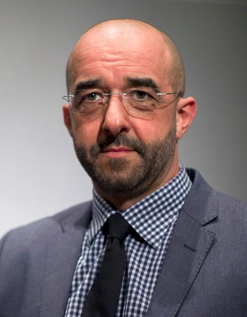 Na snímke hovorca maďarskej vlády Zoltán Kovács