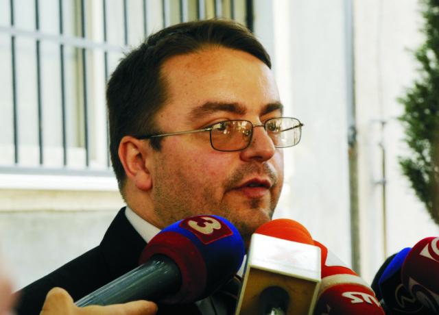 Na snímke hovorca Krajského súdu v Bratislave Pavol Adamčiak