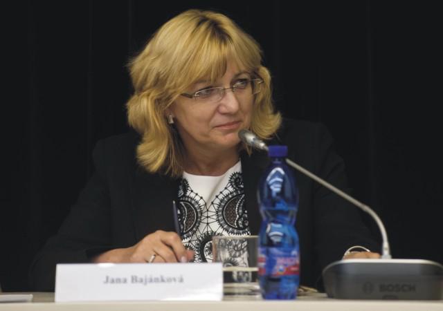 Na snímke Jana Bajánková