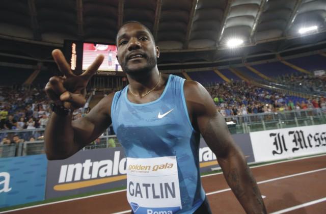 Americký bežec Justin Gatlin