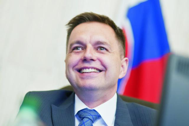 Na snímke Peter Kažimír