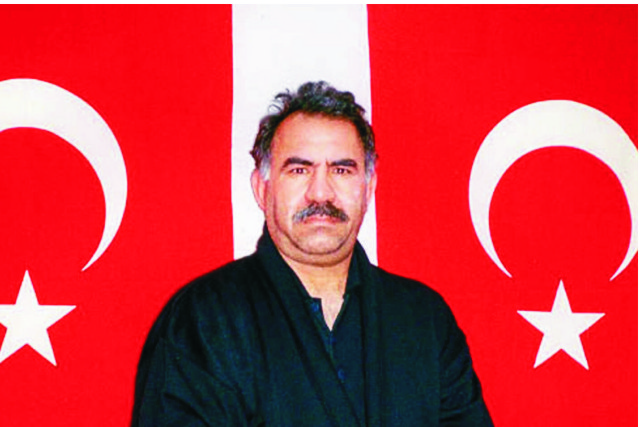 Na archívnej snímke vodca kurdských separatistov Abdullah Öcalan