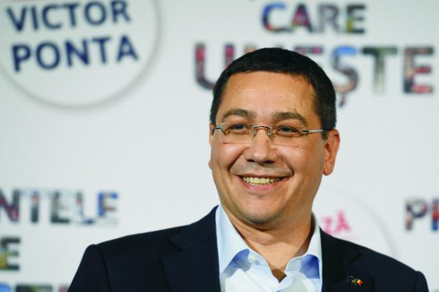 Stredoľavý rumunský premiér Victor Ponta