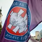 Na snímke vlajka