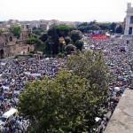 Podľa predbežných údajov sa manifestácie zúčastnilo až milión ľudí