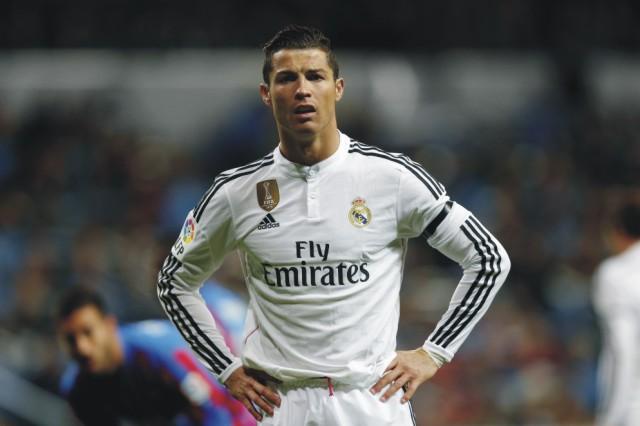 Hráč Realu Madrid Cristiano Ronaldo