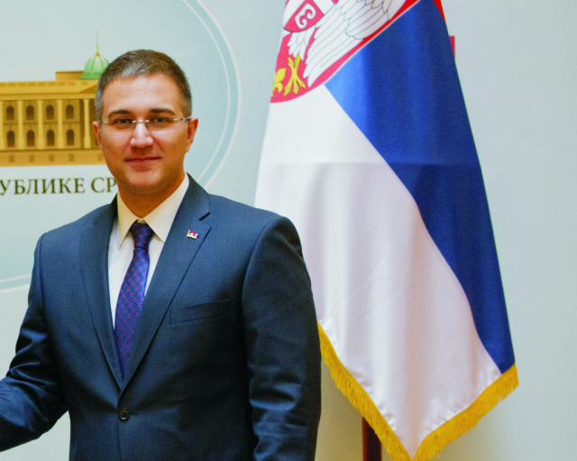 Na snímke Nebojša Stefanovič