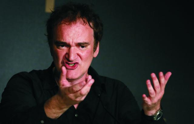 Americký režisér Quentin Tarantino
