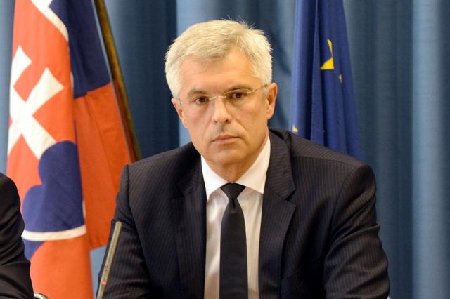 Na snímke stály predstaviteľ SR pri Európskej únii (EÚ) Ivan Korčok