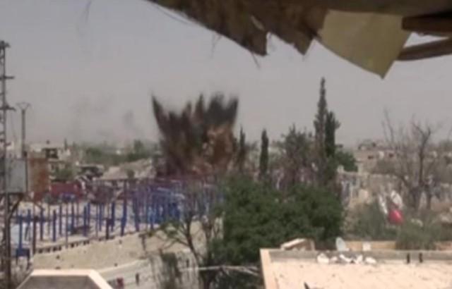 Sýrska armáda obsadila a následne zlikvidovala hlboký tunel, ktorý využívali bojovníci Islamského štátu