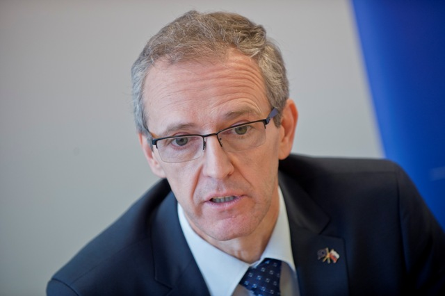 Na snímke poslanec Európskeho parlamentu Ivan Štefanec
