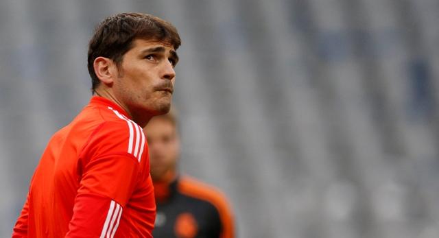 Na snímke Iker Casillas