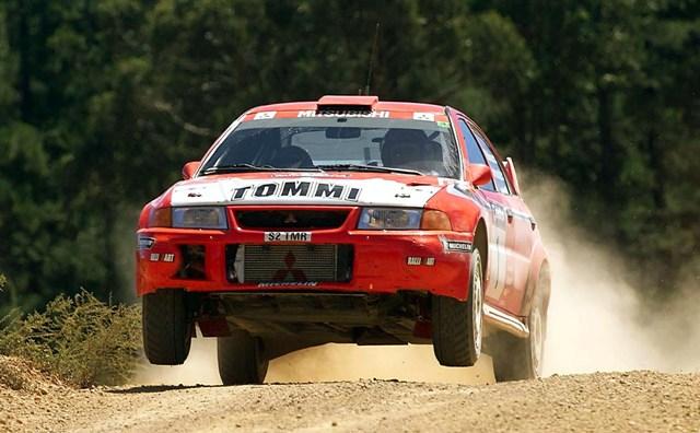 Na snímke fínsky automobilový pretekár Tommi Mäkinen