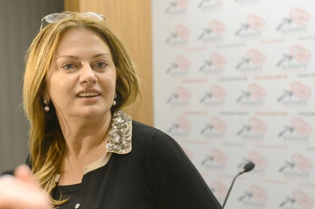 Na snímke poslankyňa Európskeho parlamentu Monika Flašíková Beňová