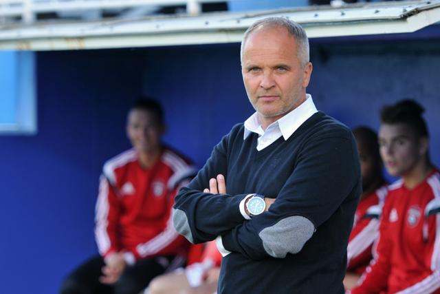 Na snímke tréner FC Spartak Trnava Juraj Jarábek