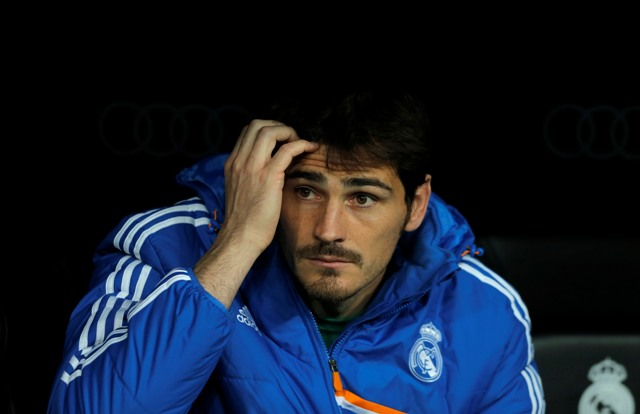Na snímke brankár Iker Casillas