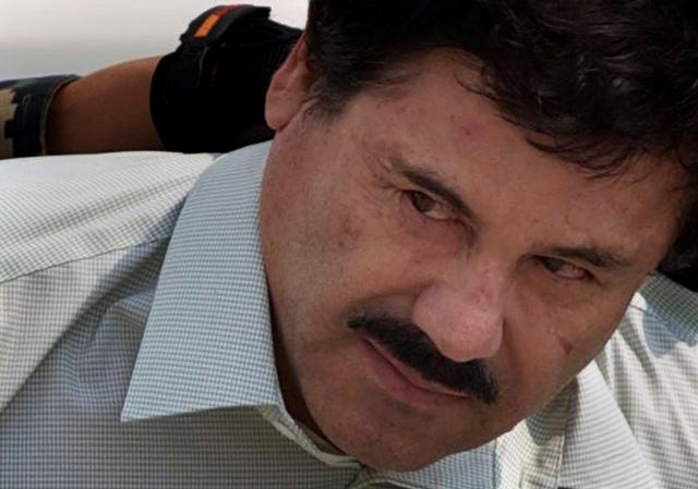 Na snímke Joaquín  El Chapo Guzmán