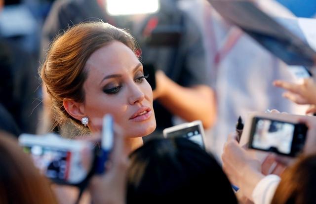Na snímke americká herečka Angelina Jolie