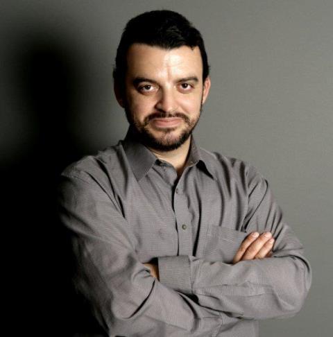 Na snímke rektor Akadémie médií Eduard Chmelár