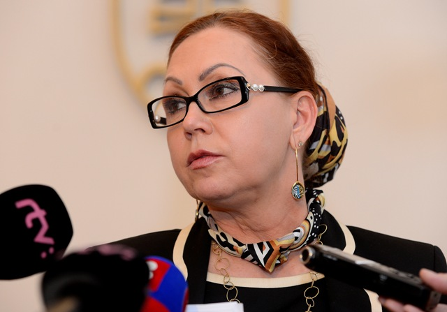 Na snímke predsedníčka Ústavného súdu SR Ivetta Macejková