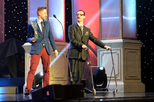 Na snímke Peter Káčer (vpravo)
