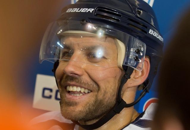 Na snímke hokejista Rastislav Špirko