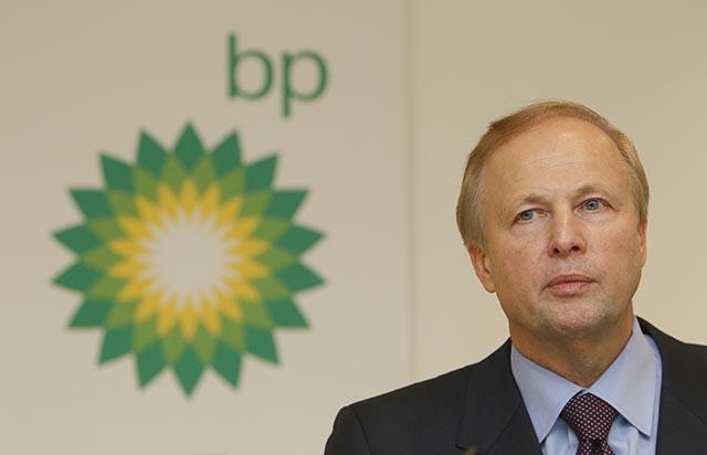 Na snímke šéf britského energetického koncernu BP Bob Dudley.