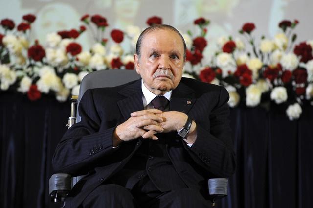 Na snímke alžírsky prezident Abdal Azíz Buteflika