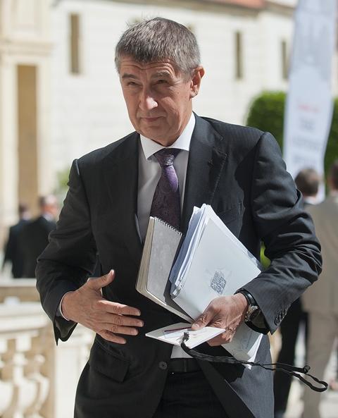 Na snímke prvý podpredseda vlády ČR a minister financií ČR Andrej Babiš