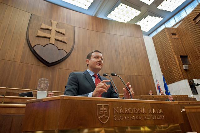 Na snímke nezaradený poslanec Daniel Lipšic