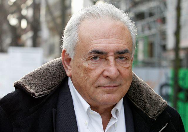 Na snímke z roku 2012 bývalý prezident Medzinárodného menového fondu (MMF) Dominique Strauss-Kahn