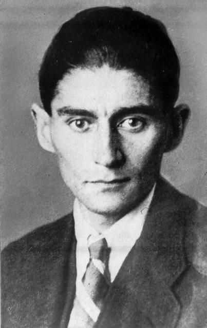 Na snímke Franz Kafka