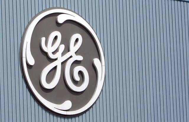 Na snímke logo amerického priemyselného konglomerátu General Electric