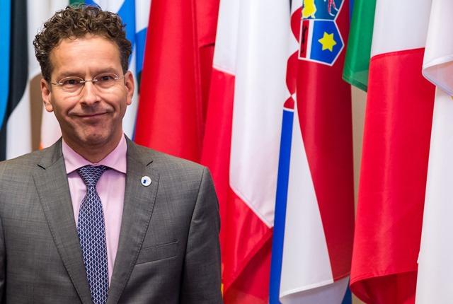 Na snímke šéf Euroskupiny a holandský minister financií Jeroen Dijsselbloem